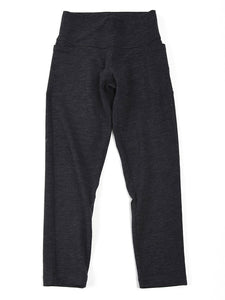 Washable Inlay Easy Pants Charcoal