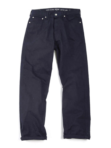 Okome Nando x Nando Front River Denim Cotton Pants