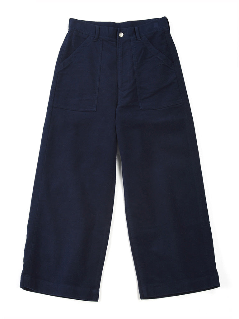 Mole Serge Stretch 908 Painter Pants in Navy