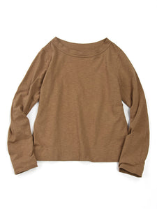 Zimba Tenjiku 45 Star Long Sleeve T-Shirt in Beige