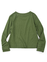 Zimba Tenjiku 45 Star Long Sleeve T-Shirt in Green