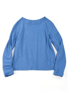 Zimba Tenjiku 45 Star Long Sleeve T-Shirt in Blue