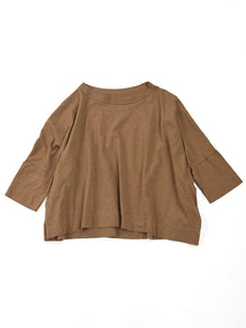 Zimba Tenjiku  Big T-Shirt in Beige