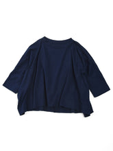 Zimba Tenjiku  Big T-Shirt in Navy