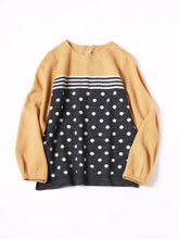 Yorimoku Knit Dot Print T-shirt