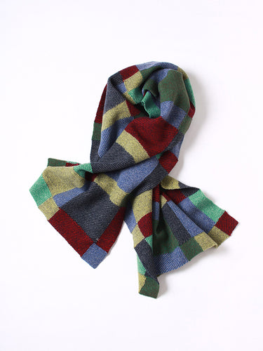 Float Colorful Tweed Stole