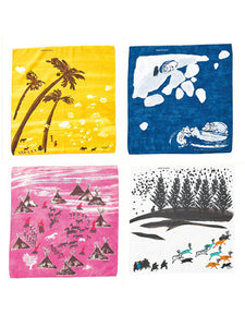Winter Picture Book Bandanna