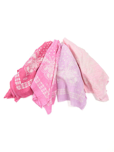 Sa Ku Ra Khadi Bandanna in 4 colors