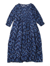 Hickory Furoshikii Print Dress in herringbone