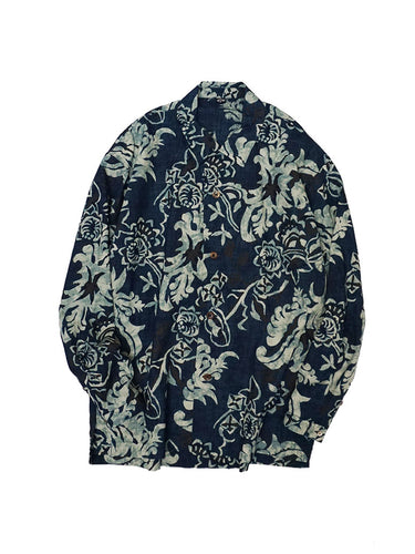 Wasshoi Indigo Safari Shirt