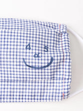 Khadi Gingham Smile Mask (3 Piece Set of Khadi Cotton Check)