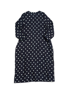 Zakkuri Double Woven Dot Dress