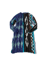 Feather Khadi Ikat Print Dress