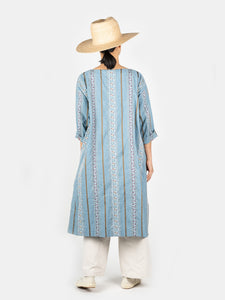 Hakeme Flower Jacquard Umahiko Dress