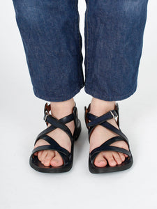 Ai Santoka Leather Sandals