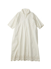 Poplin Cutwork Pull Dress