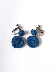Silk Tweed Earrings (Small)