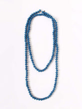 Silk Tweed Necklace in Light Ai