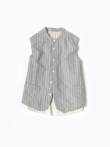 White Tweed Vest (Women's)