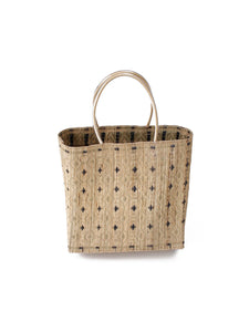 Reed Tote Bag in Beige