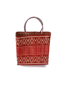 Reed Tote Bag in Red