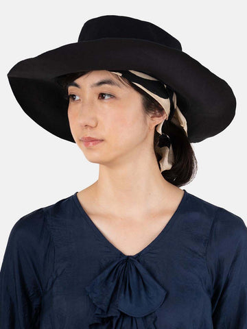Indigo Okome Duck Coating Hat