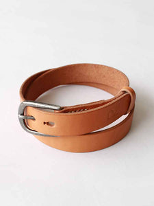 Simple Color Belt in Beige