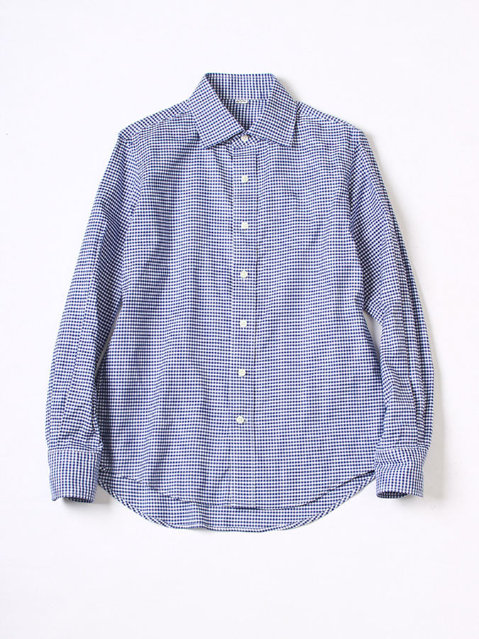 Oxford 908 Regular Shirt in Blue Check