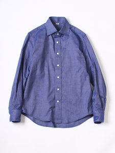 Oxford 908 Regular Shirt in Blue Chambray