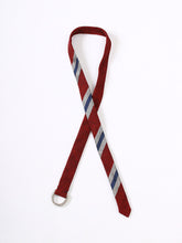 Regiment Ribbon Belt in Red