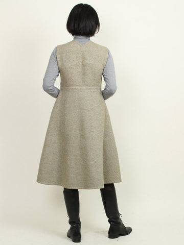 Kersey Double Cloth Dress