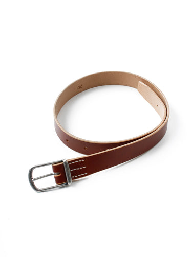 UK Leather Belt in Brown