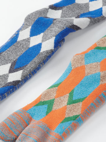 Crazy Argyle Socks