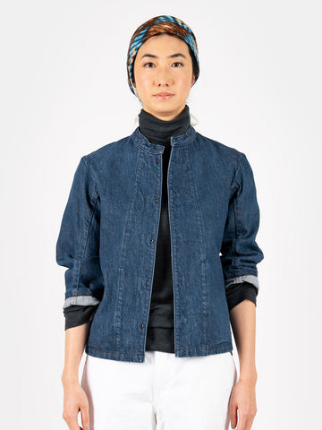 Okome Denim 908 Blouson Distressed