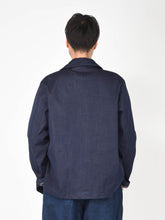 Ai-Indigo Denim 908 Coverall Jacket