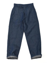 Cotton Linen Blue Denim 908 Baker Painter Pants in indigo