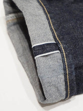 Tapered Five Pocket Hikohime One Wash Denim Cotton Pants