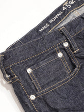 Tapered Five Pocket Hikohime One Wash Denim Pants
