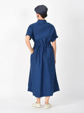 Cotton Satin Dress Distress