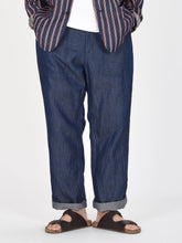 Cotton Linen Goma Denim 908 Baker Pants
