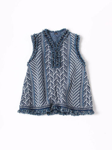 Knit Tweed Camisole