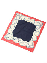 Cotton Tricot Bandana in rope indigo