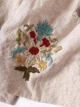 Linen Embroidery Camisole