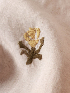 Linen Embroidery Dress