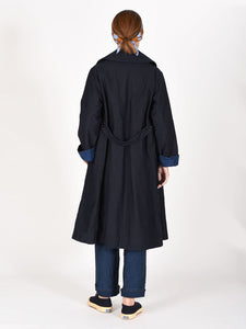 Ai Nando Mugi Satin Cotton Akiya Coat
