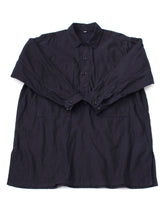 Ai Nando Awa Satin Cotton Painter Tunic in ai indigo