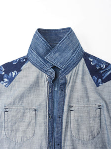 Goma Denim Cotton Eastern Shirt