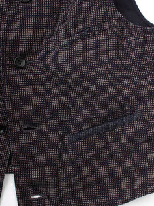 Cotton Tweed 908 Vest