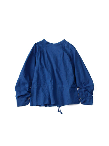Ai Khadi Blouse in Indigo