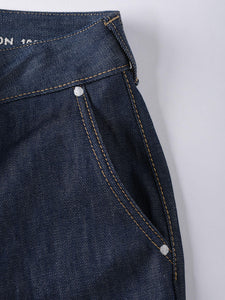 Okome Cotton Denim Charlotte Pants One Wash